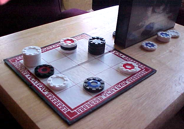 Case Blue Board Game : Plateau the ultimate game of strategy and intrigue.